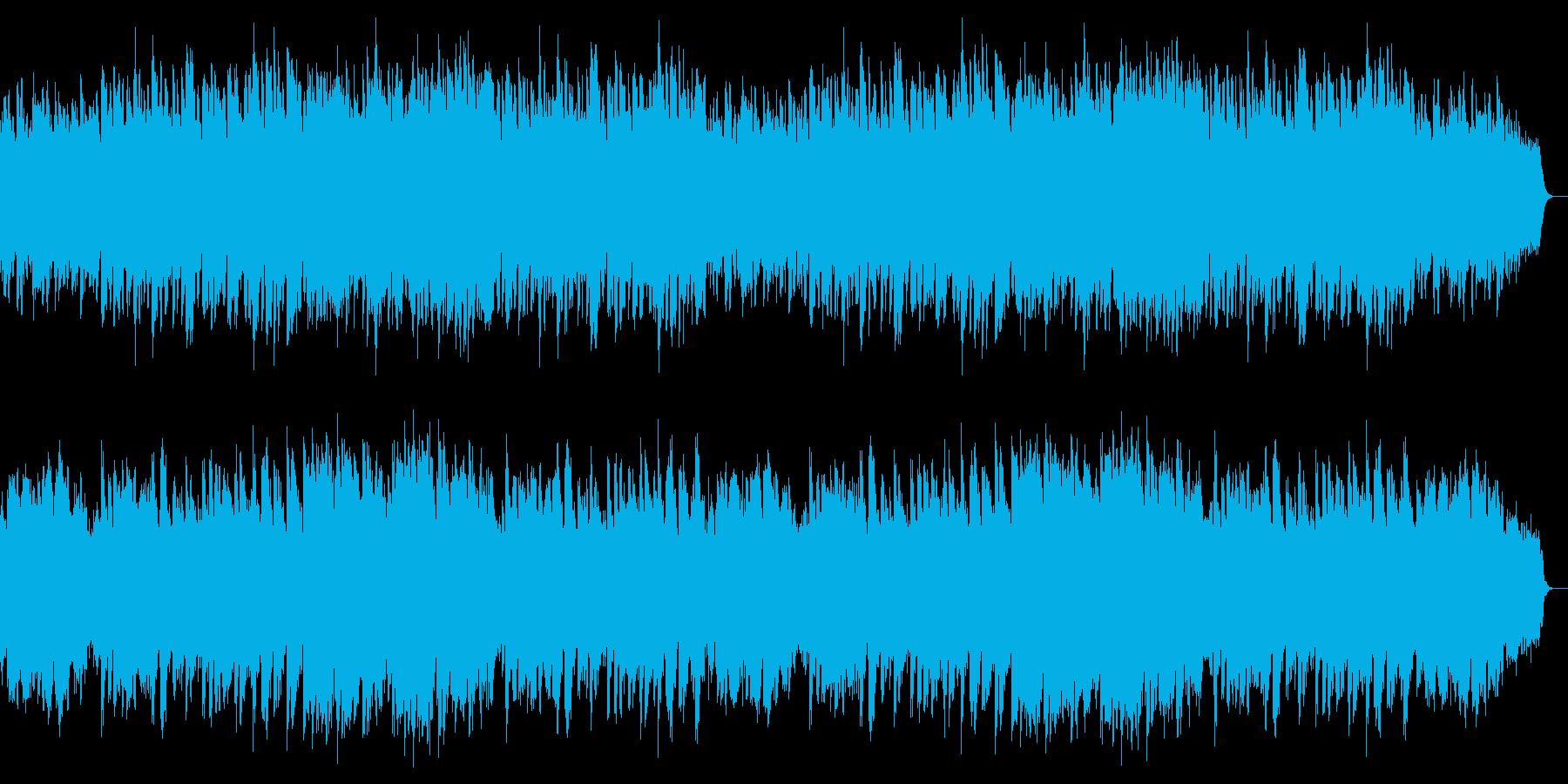 ピアノと鉄琴中心の明るく疾走感あるワルツの再生済みの波形