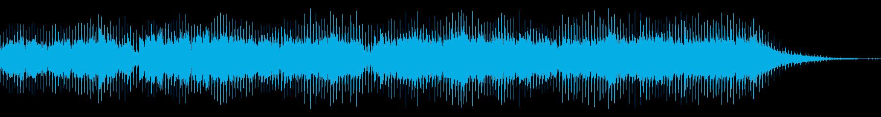 チェロとアコギの癒し系カントリーBGMの再生済みの波形