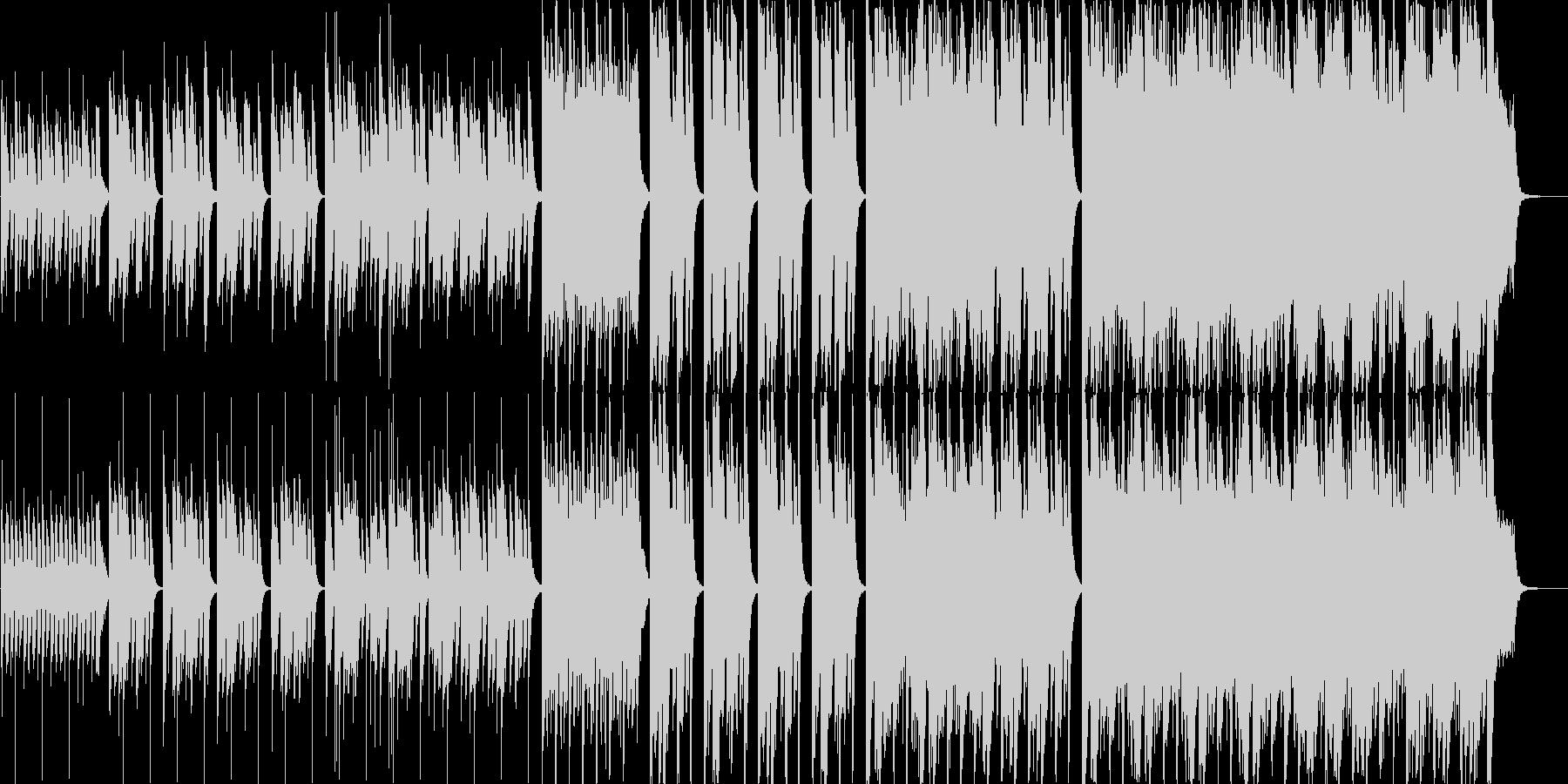 お子様がメインの映像に最適なほのぼの楽曲の未再生の波形