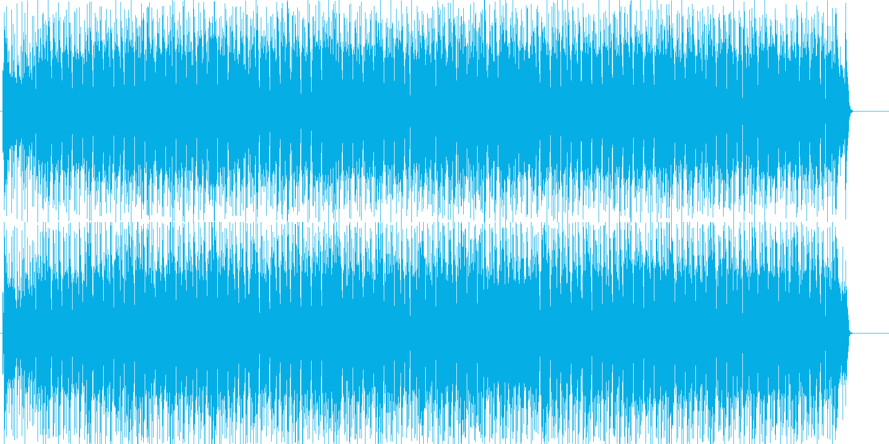 軽快で楽しく可愛らしいわくわくポップの再生済みの波形