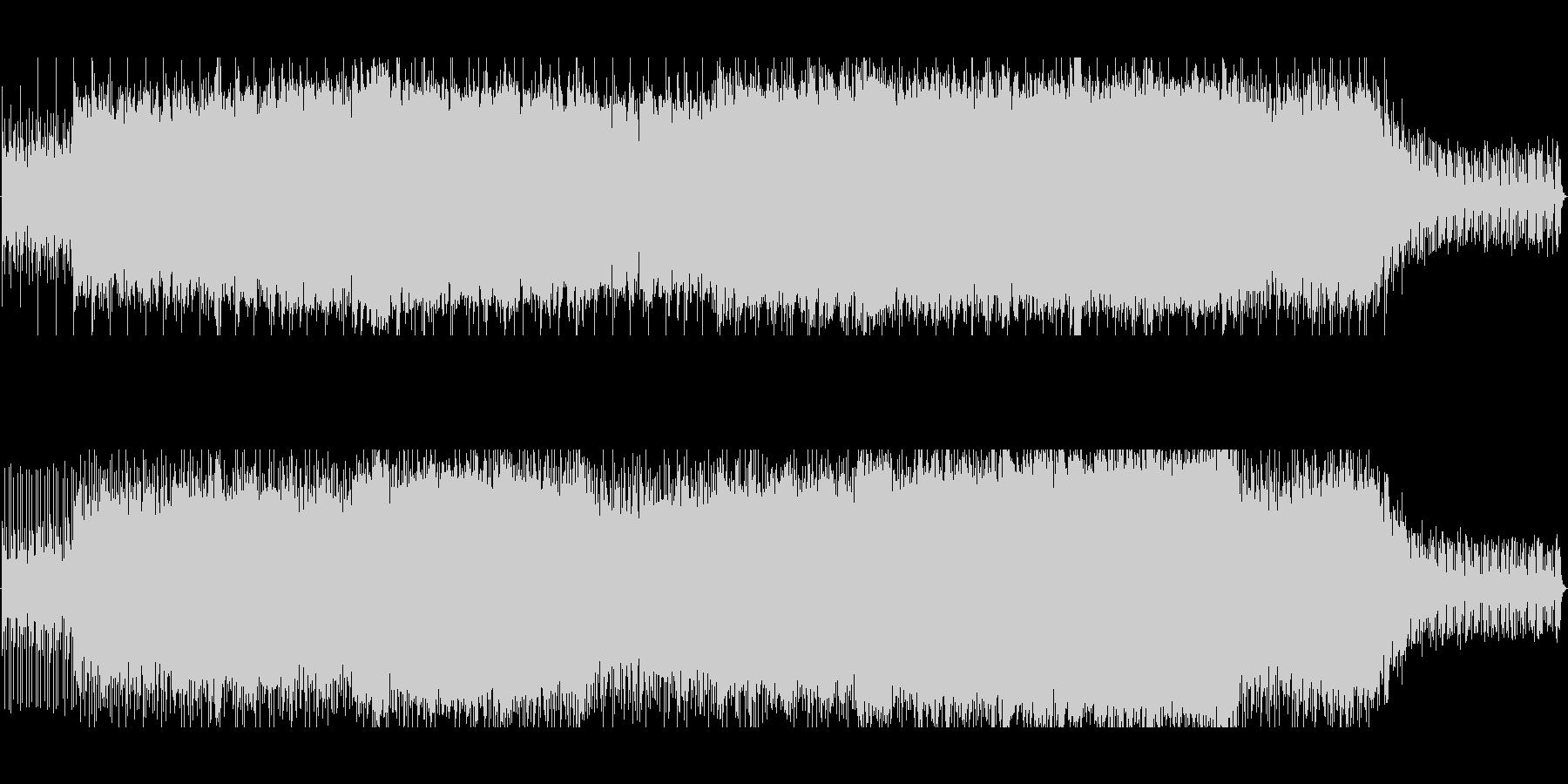 感動的なオーケストラ風の未再生の波形