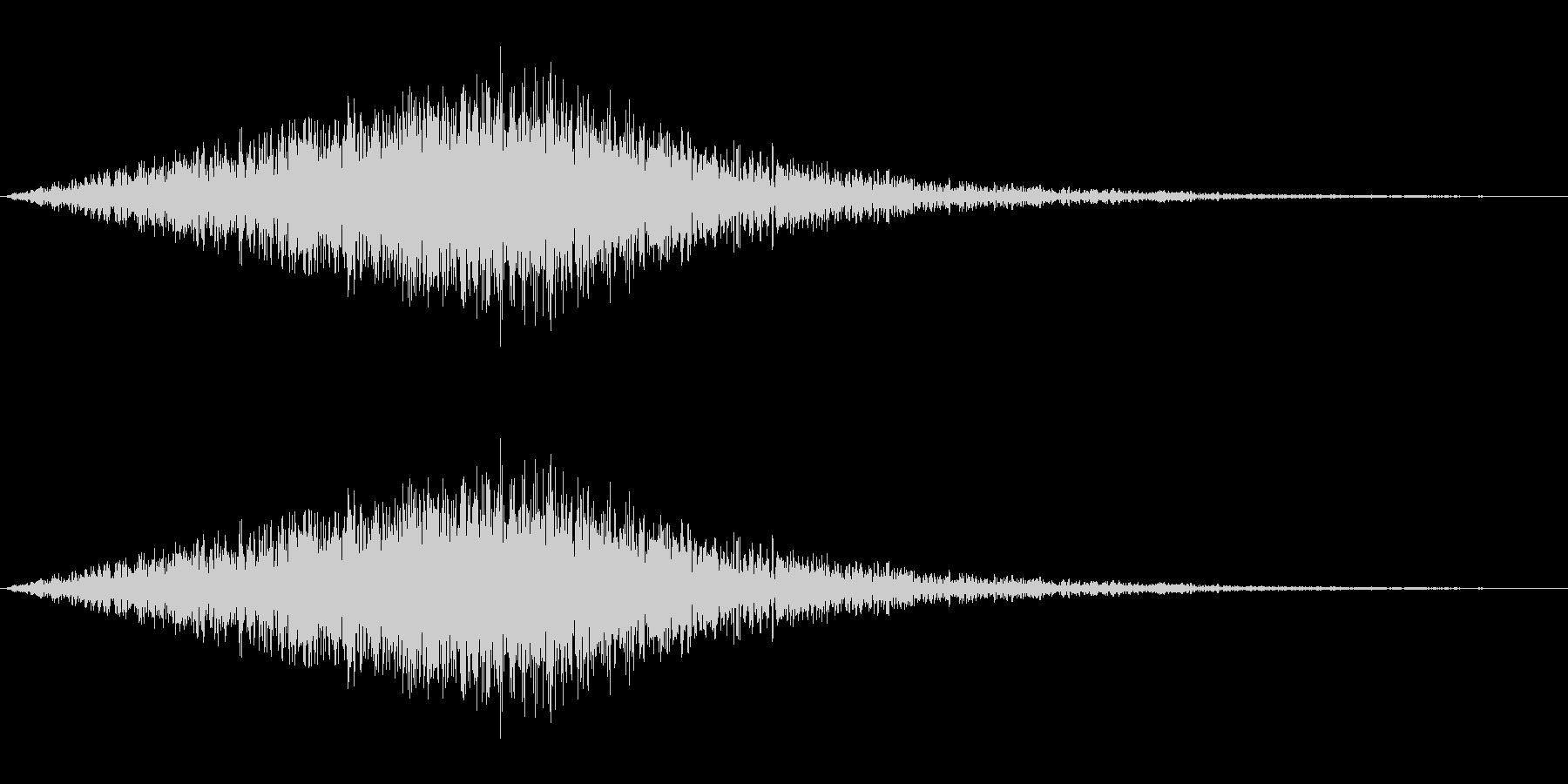 風音03(ピュー/短い系)の未再生の波形