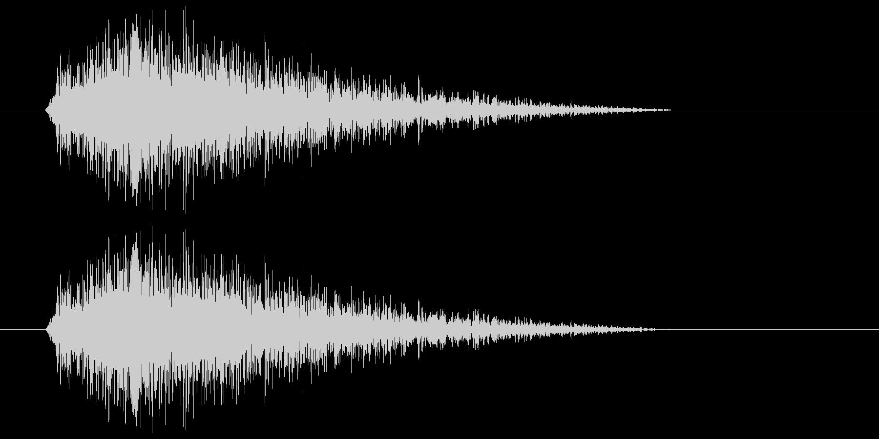 ヒュー(風の音) 01の未再生の波形