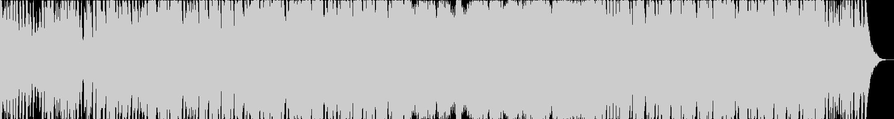 オーケストラとコーラスの荘厳なBGMの未再生の波形