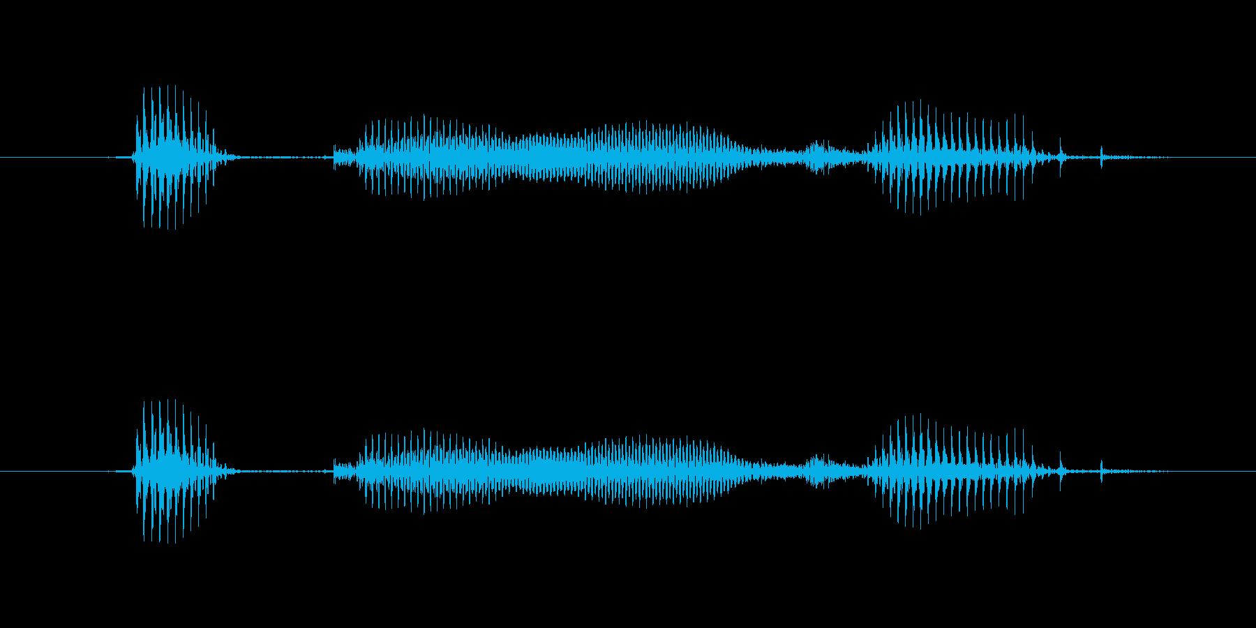 【星座】乙女座の再生済みの波形