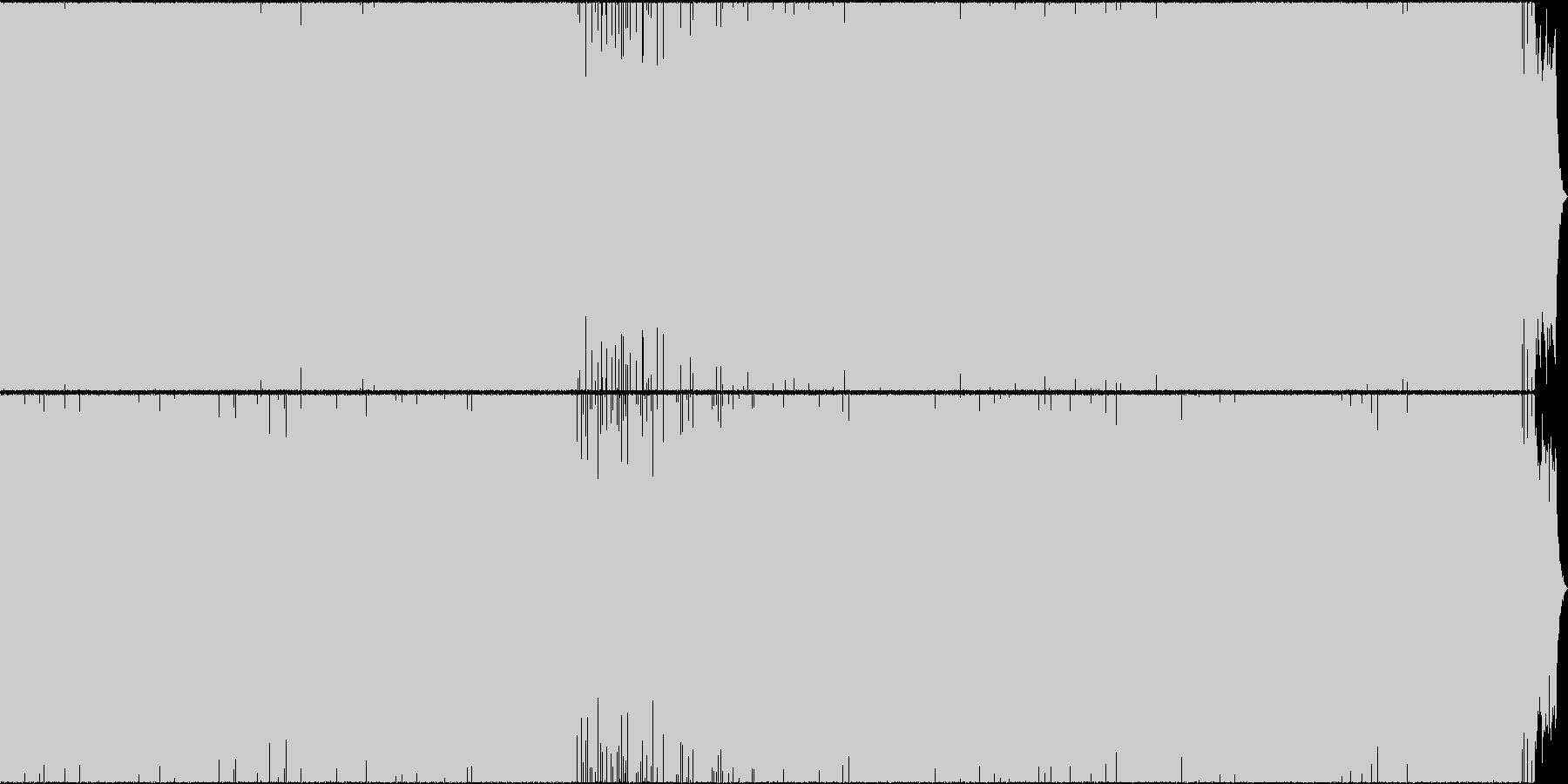 パッヘルベルのカノン(HappyMix)の未再生の波形