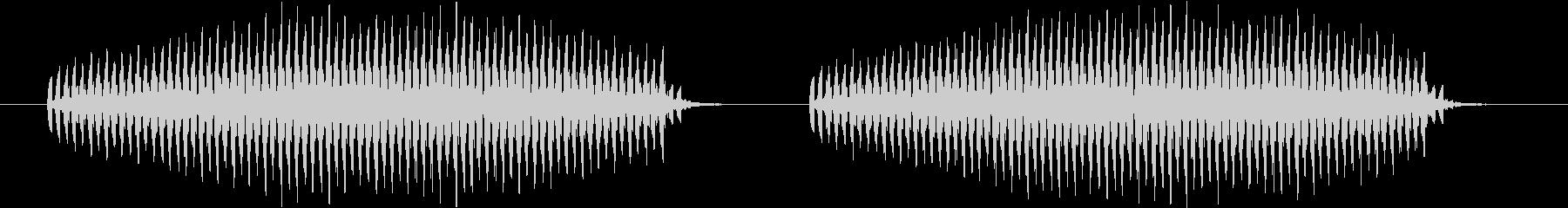 キリキリキリキリというシンセ音(虫)の未再生の波形