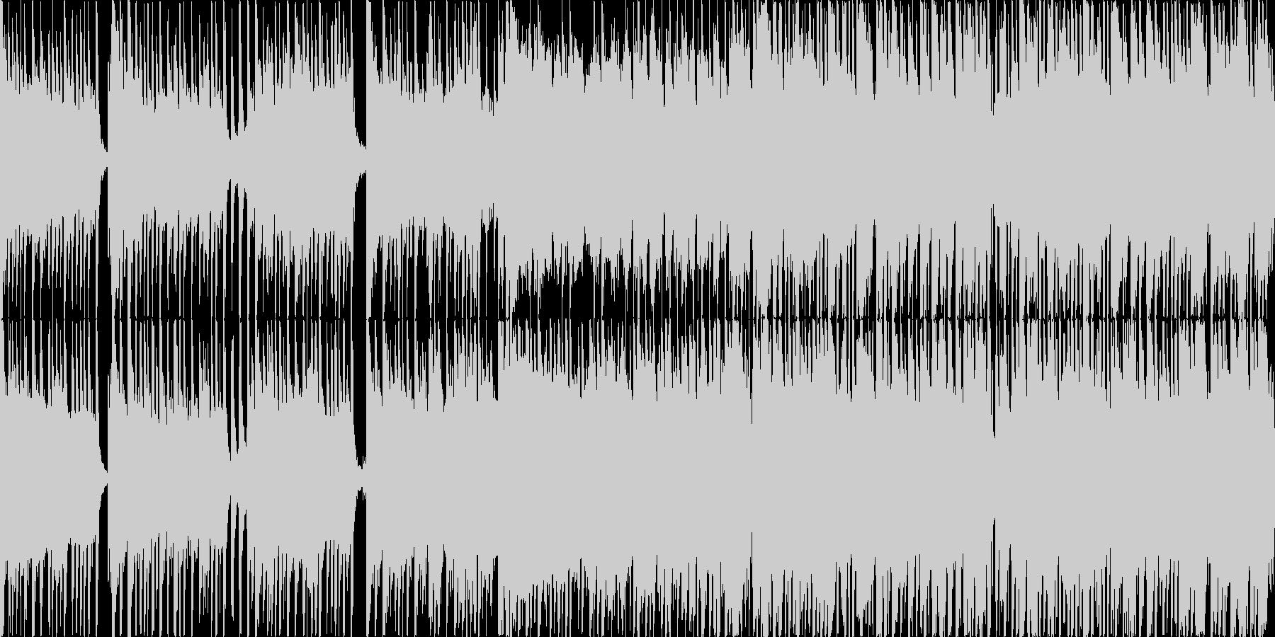 コミカルで楽しいリコーダーの可愛い日常曲の未再生の波形