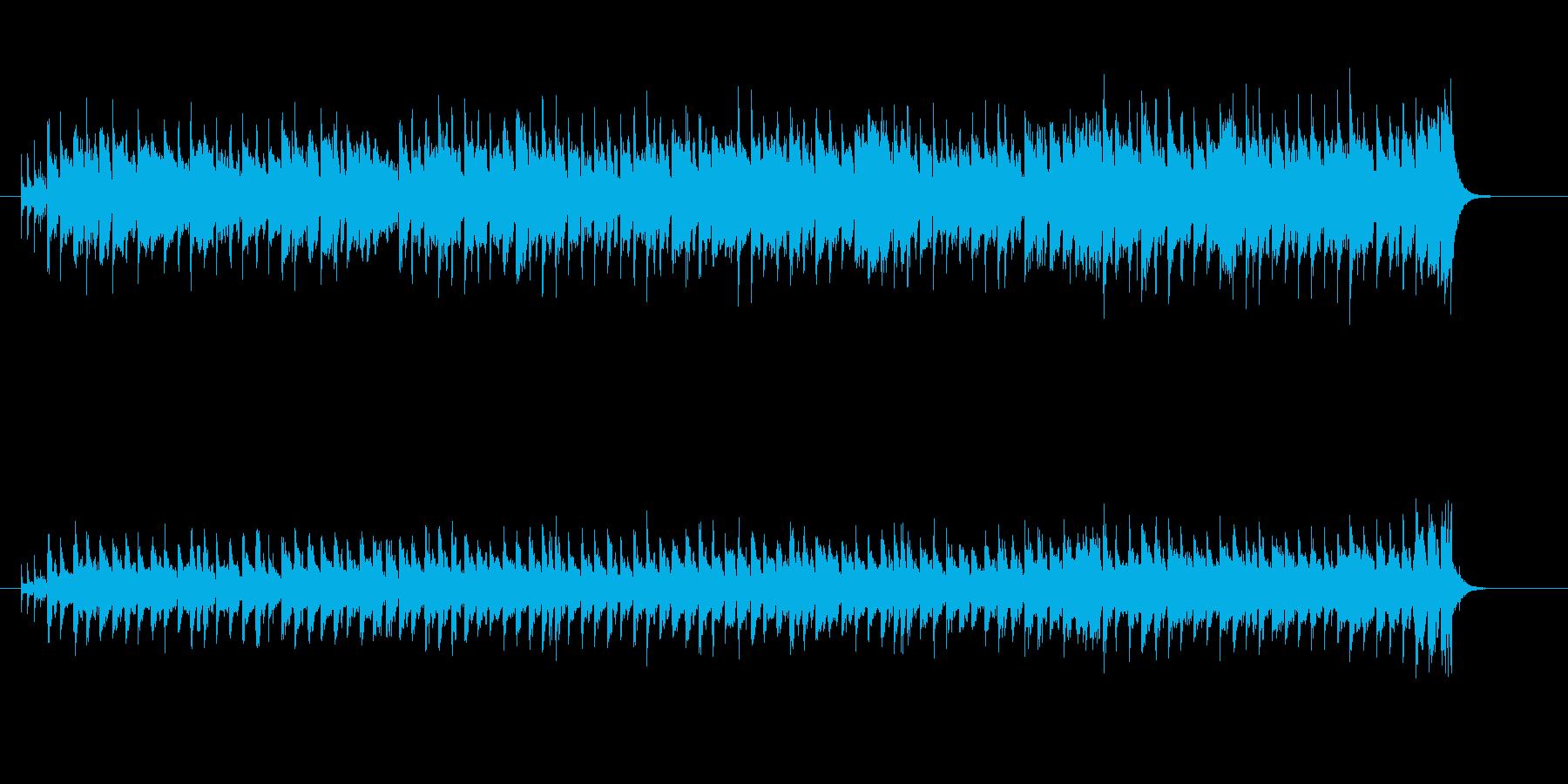 アニメ・ソング風行進曲の再生済みの波形