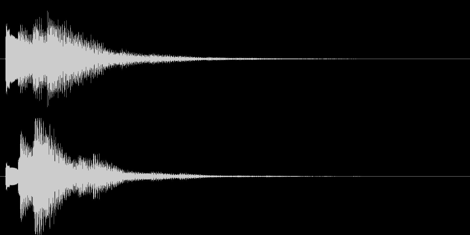 タラララン↑(キラキラ、おしゃれ)の未再生の波形