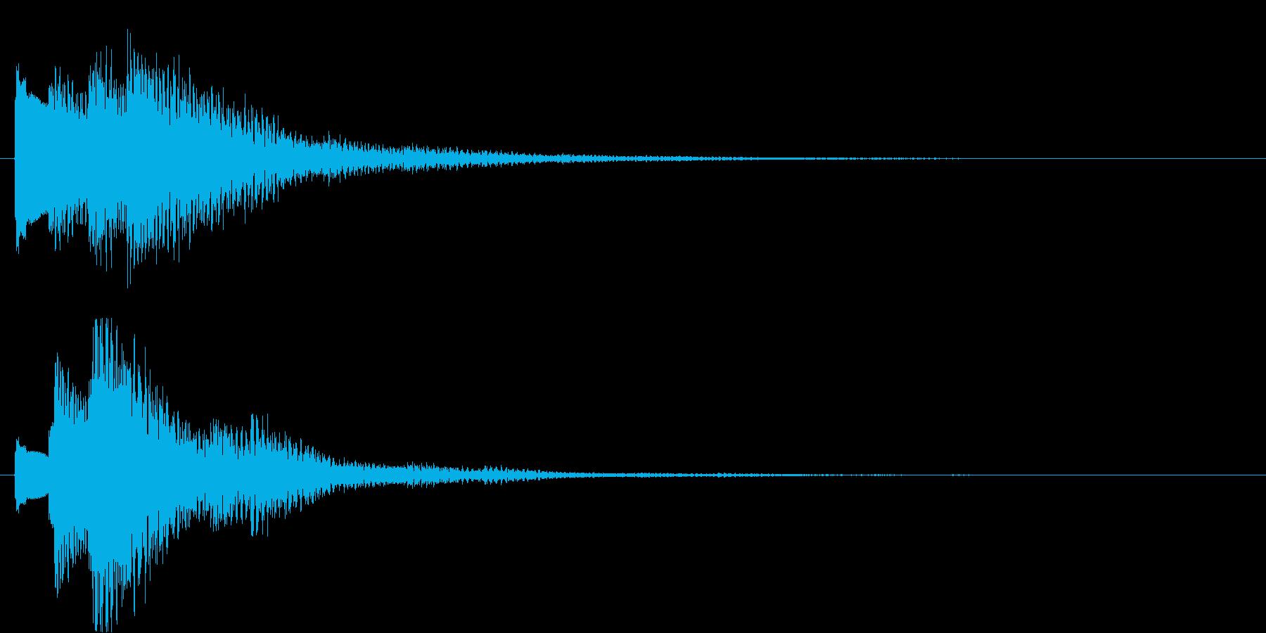 タラララン↑(キラキラ、おしゃれ)の再生済みの波形