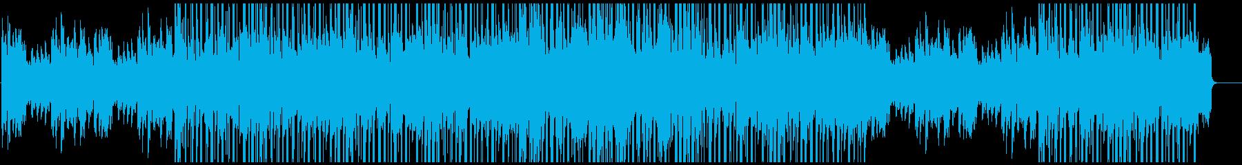 ジャジーで渋いローファイ・ヒップホップの再生済みの波形