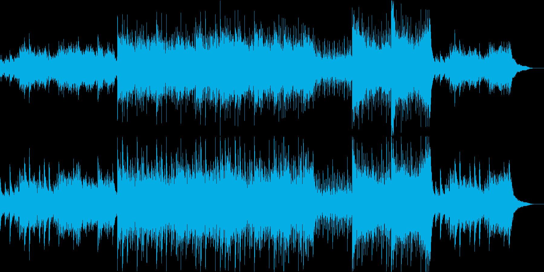 呪われた家/ハロウィンBGM/奇妙な夢の再生済みの波形