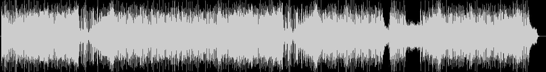 ストリングスによる軽快なポップスの未再生の波形