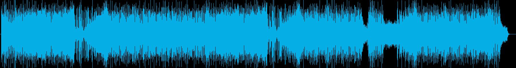 ストリングスによる軽快なポップスの再生済みの波形