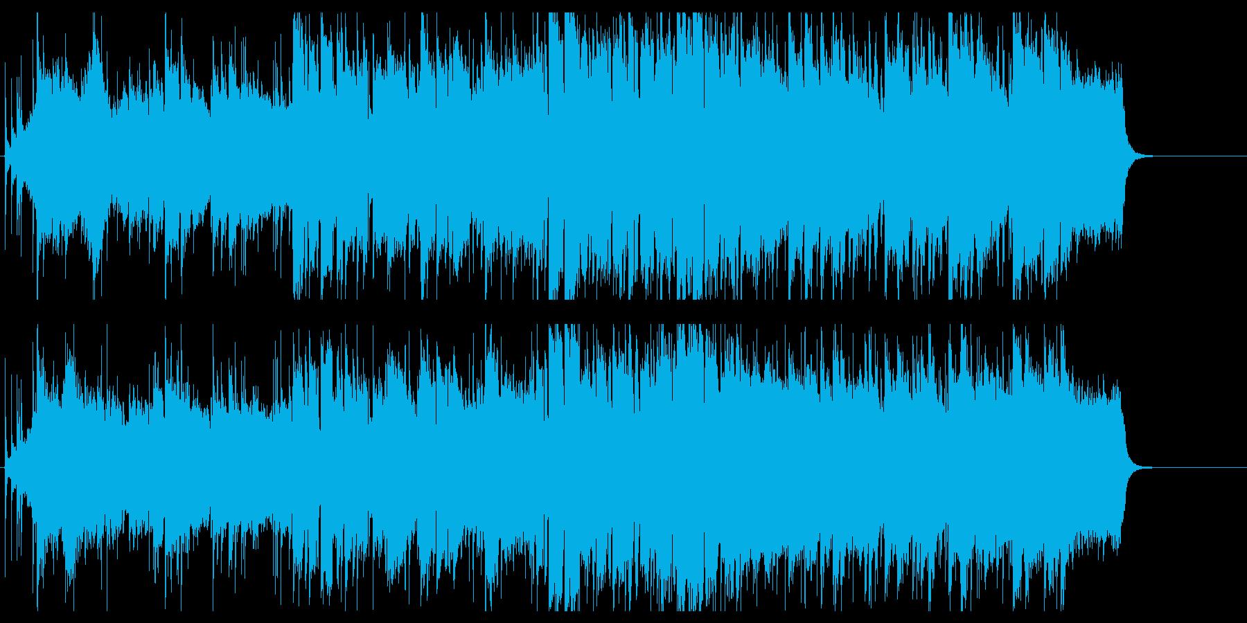 優しくてしっとりとしたイージーリスニングの再生済みの波形