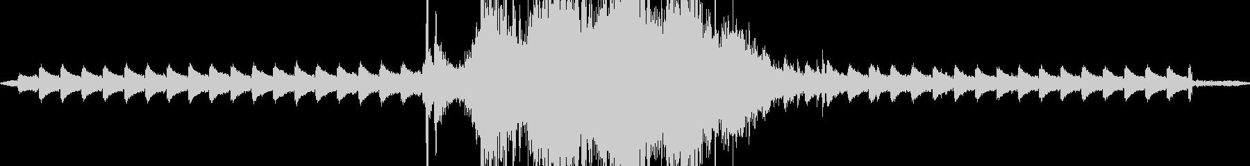 カナカンカン ガタンガタン 踏切待ちの音の未再生の波形
