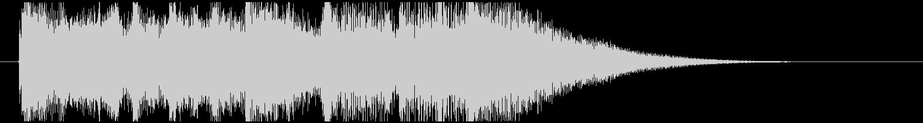 琴・尺八・和太鼓の純和風ロゴの未再生の波形
