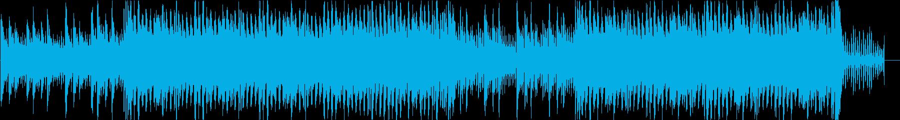 映像に使いやすいミディアムテンポの再生済みの波形