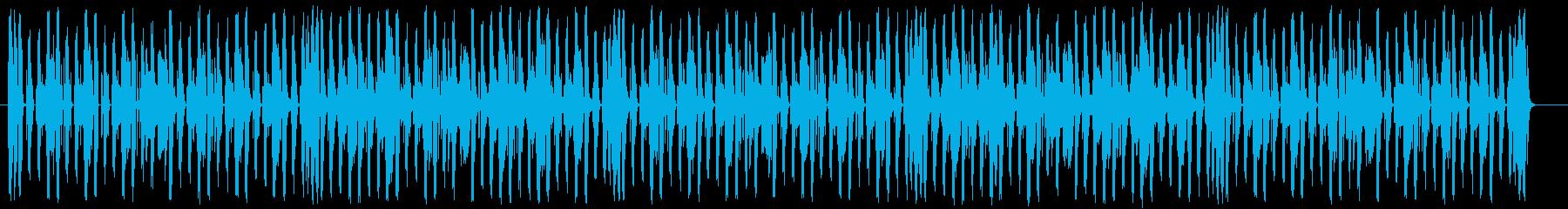 元気な時に流れるノリのいい陽気なBGMの再生済みの波形