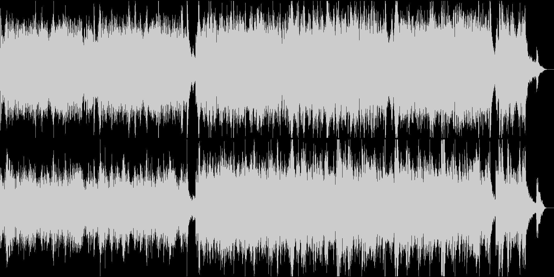 前向きで優しい感動ピアノ4高音弦抜きの未再生の波形