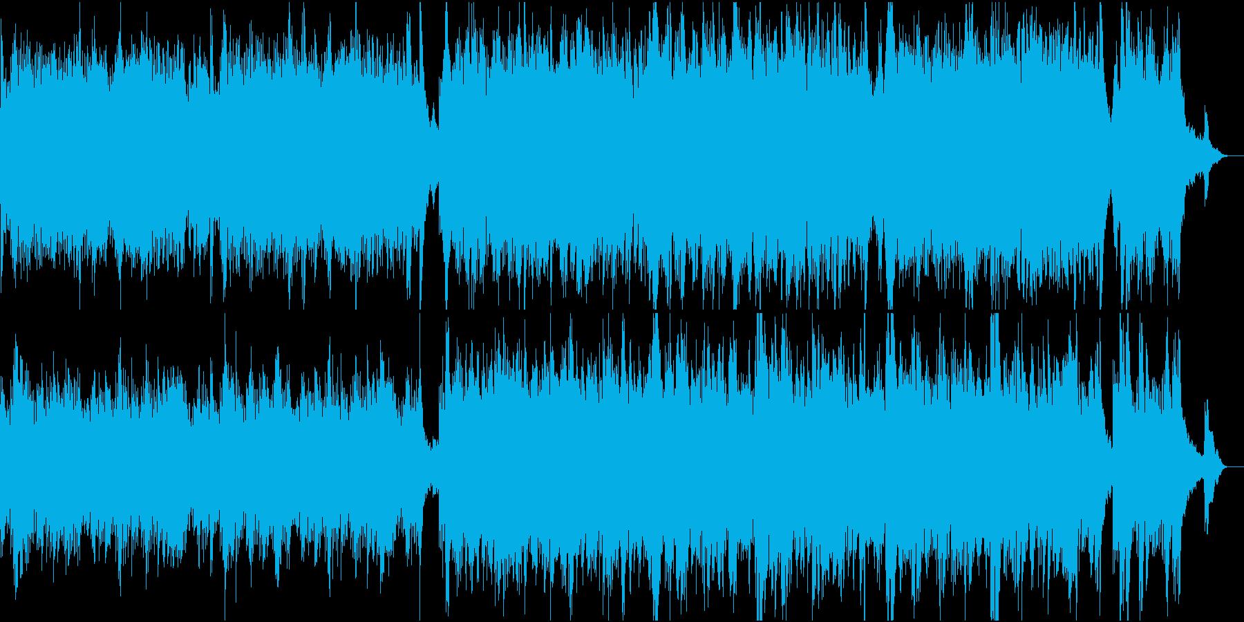 前向きで優しい感動ピアノ4高音弦抜きの再生済みの波形