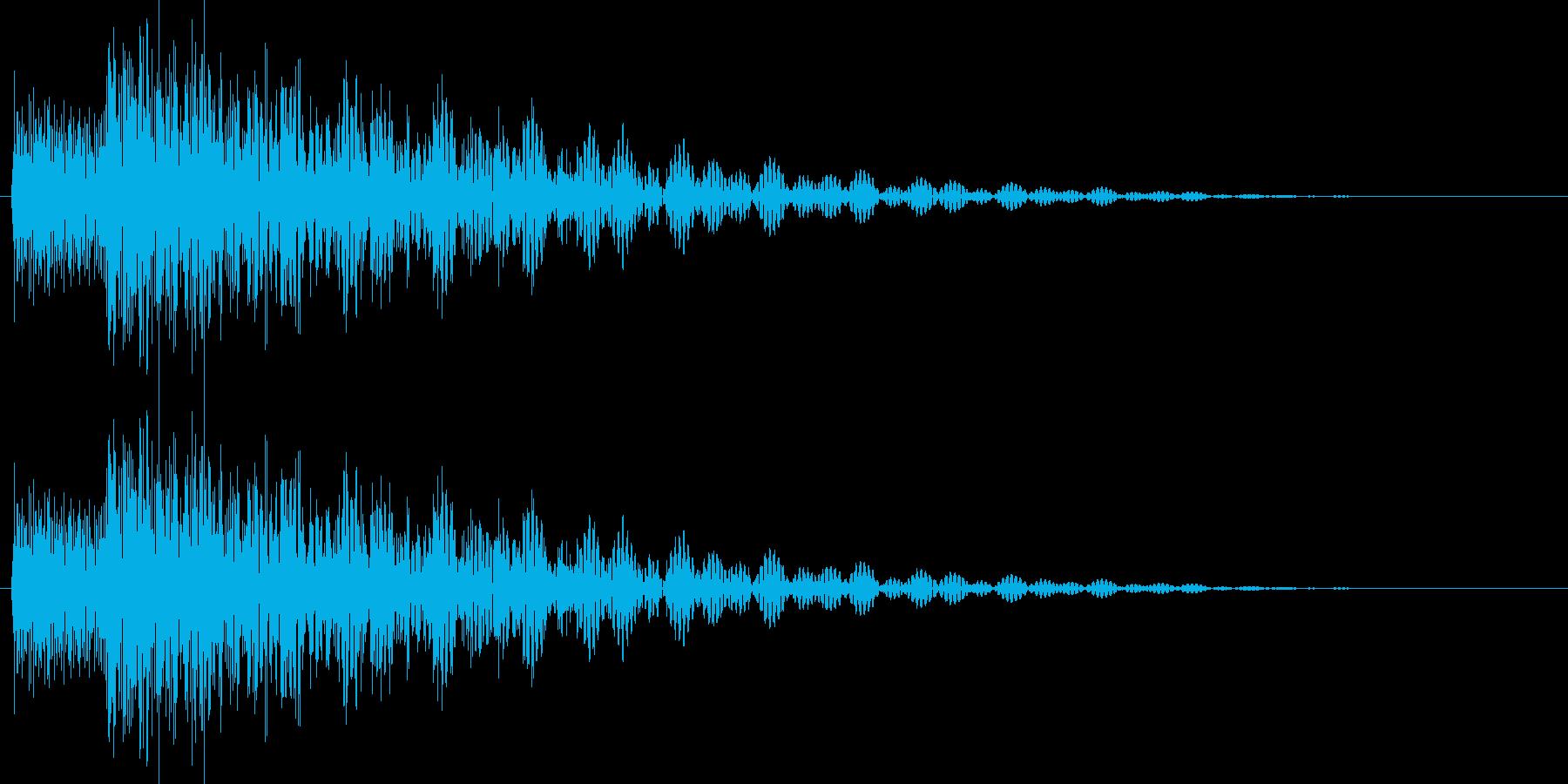 タララン 高 (ボタン、スタート音)の再生済みの波形