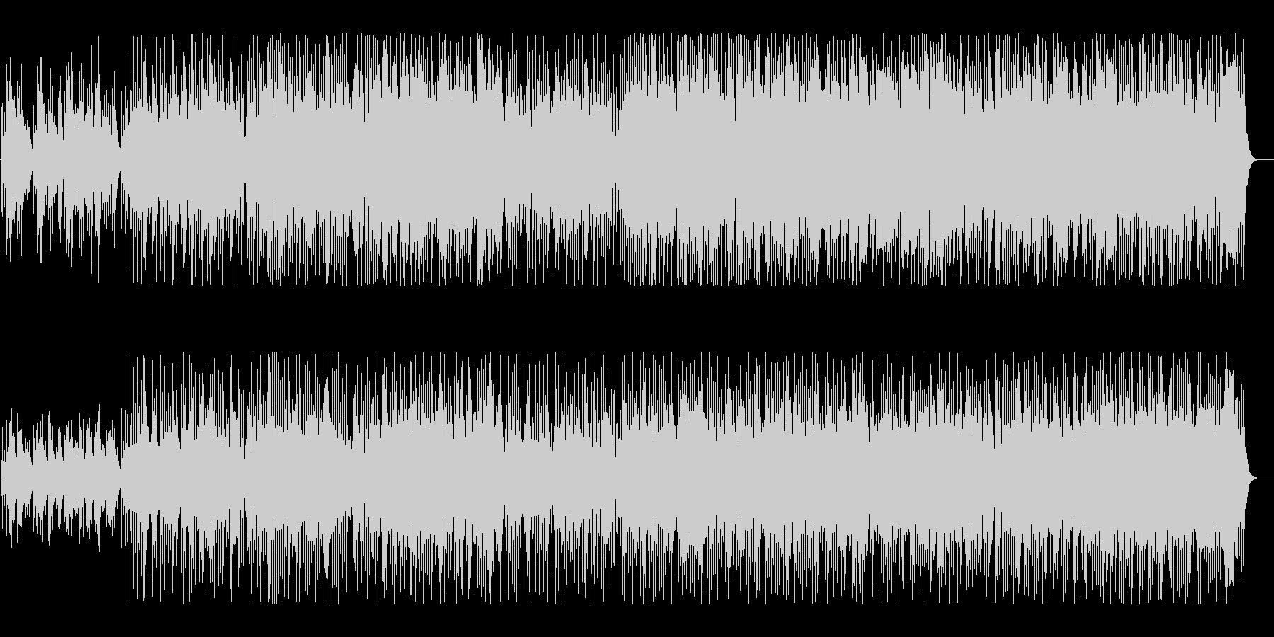 歌詞を入れれそうな和風BGMの未再生の波形