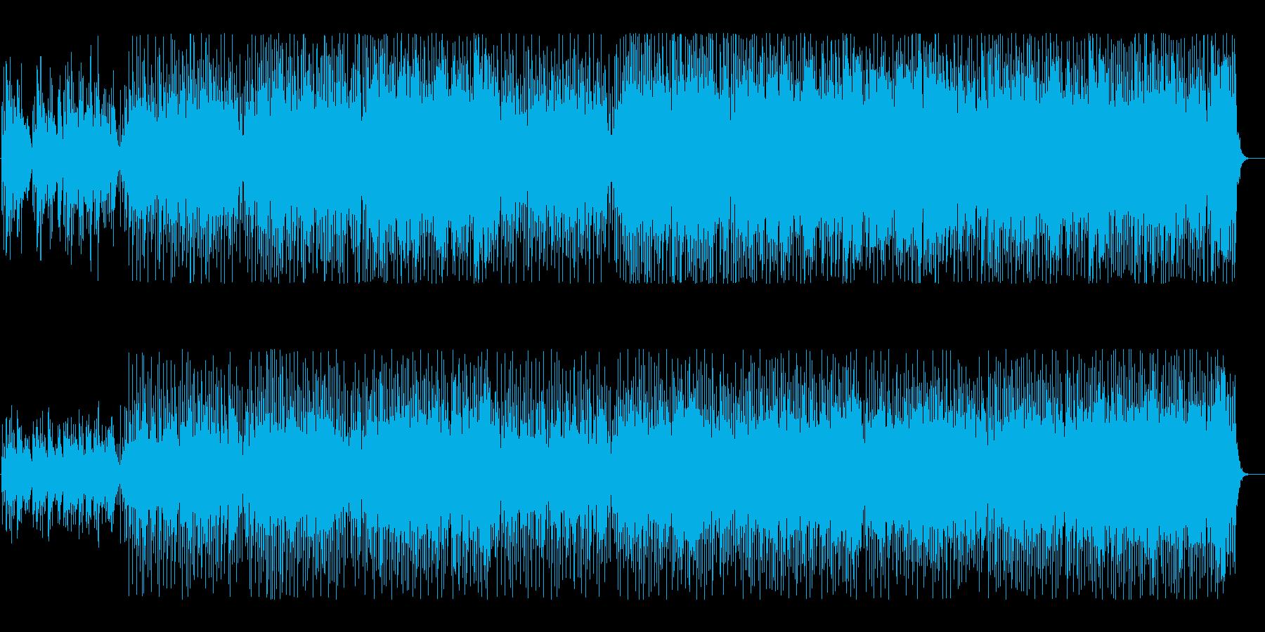 歌詞を入れれそうな和風BGMの再生済みの波形