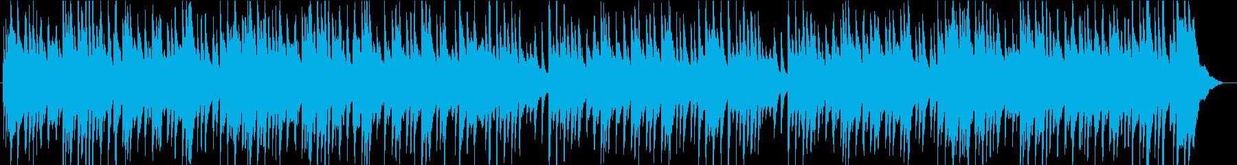切なくも爽やかスケール感あるピアノBGMの再生済みの波形