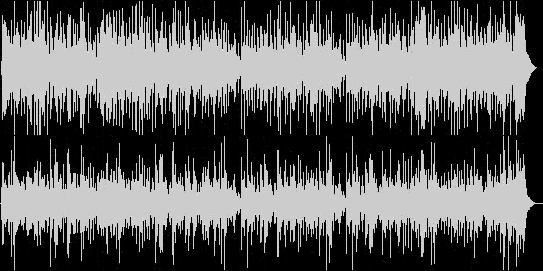 切なくも爽やかスケール感あるピアノBGMの未再生の波形