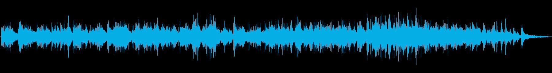 結婚式に。線を繋げたようなピアノソロの再生済みの波形
