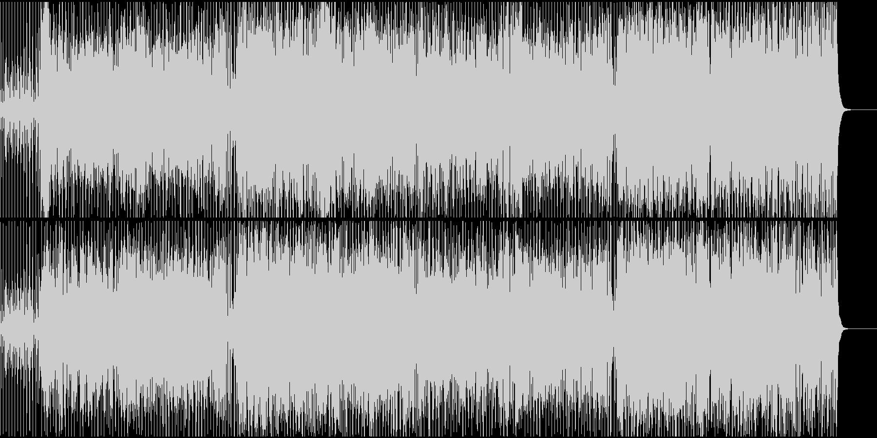 夏にピッタリ陽気なオルガンポップなサンバの未再生の波形