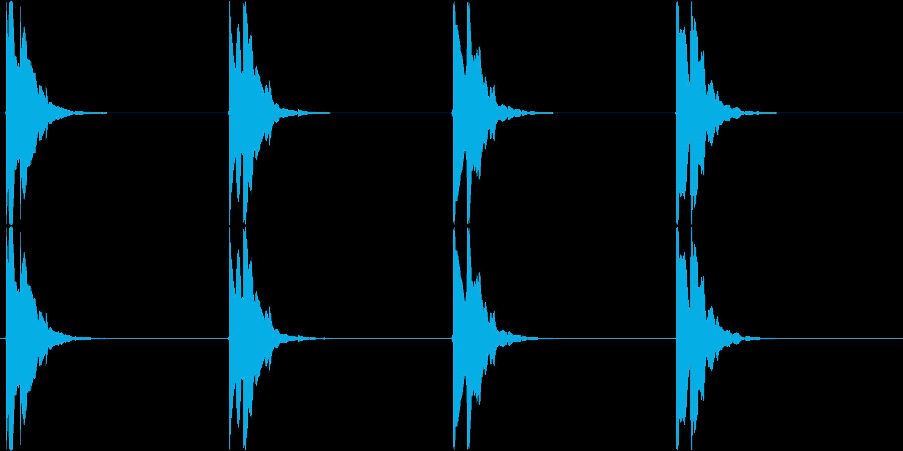ピコン・・・ピコン(矢印、目的地、点滅)の再生済みの波形