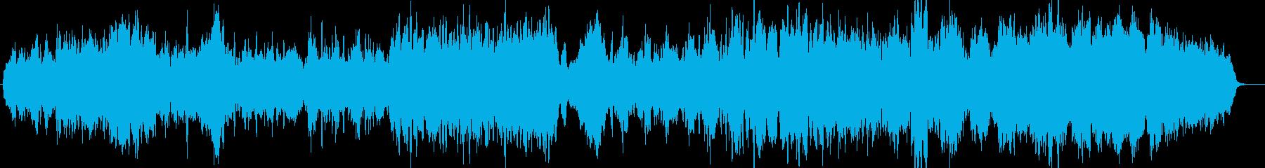 ジブリ的イメージの弦楽アンサンブルの再生済みの波形