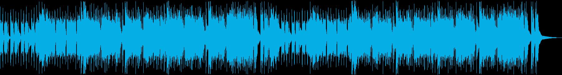 格闘ゲーム風のバトル曲 メタル風の再生済みの波形