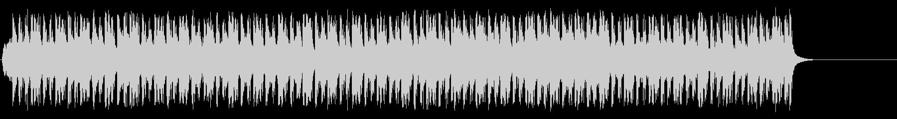 ダンサブルな歌モノ風ポップ/テクノの未再生の波形