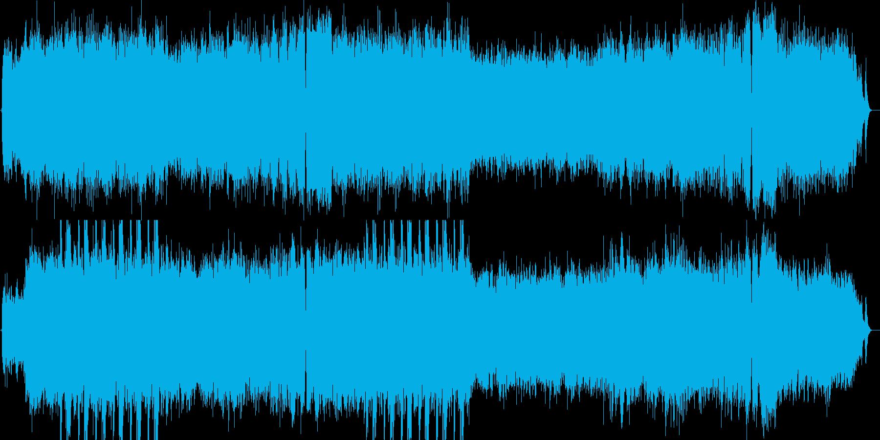 シンセで奏でる和風で妖艶なストーリーの再生済みの波形