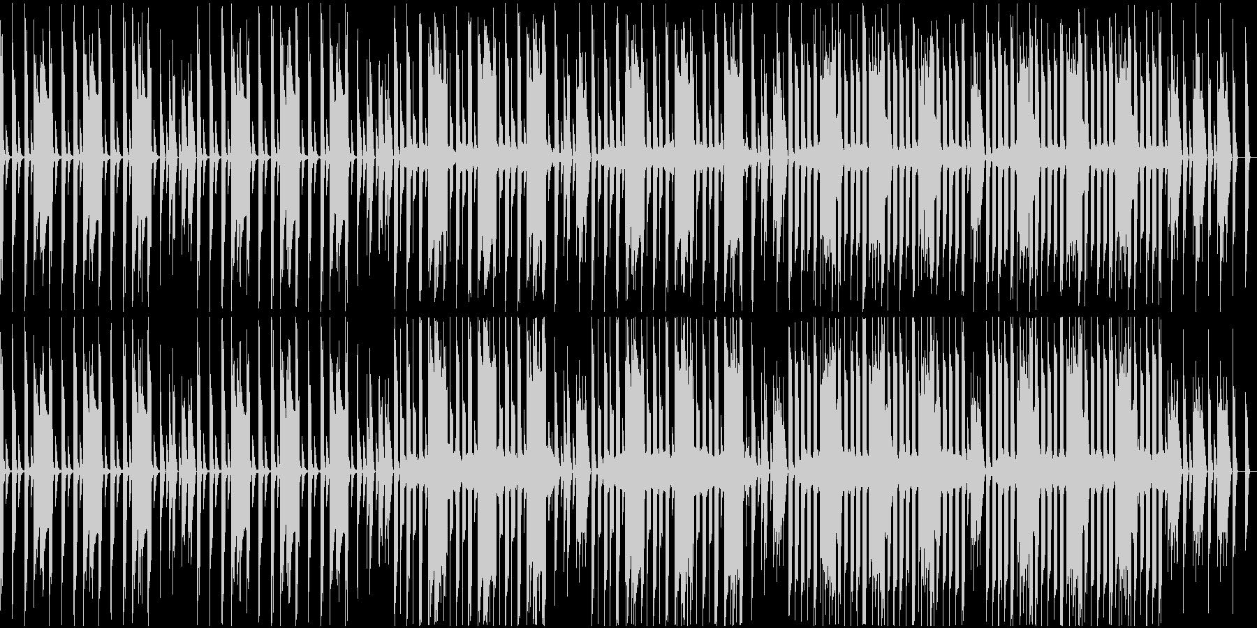各種映像に。ループ仕様、8bit風の未再生の波形