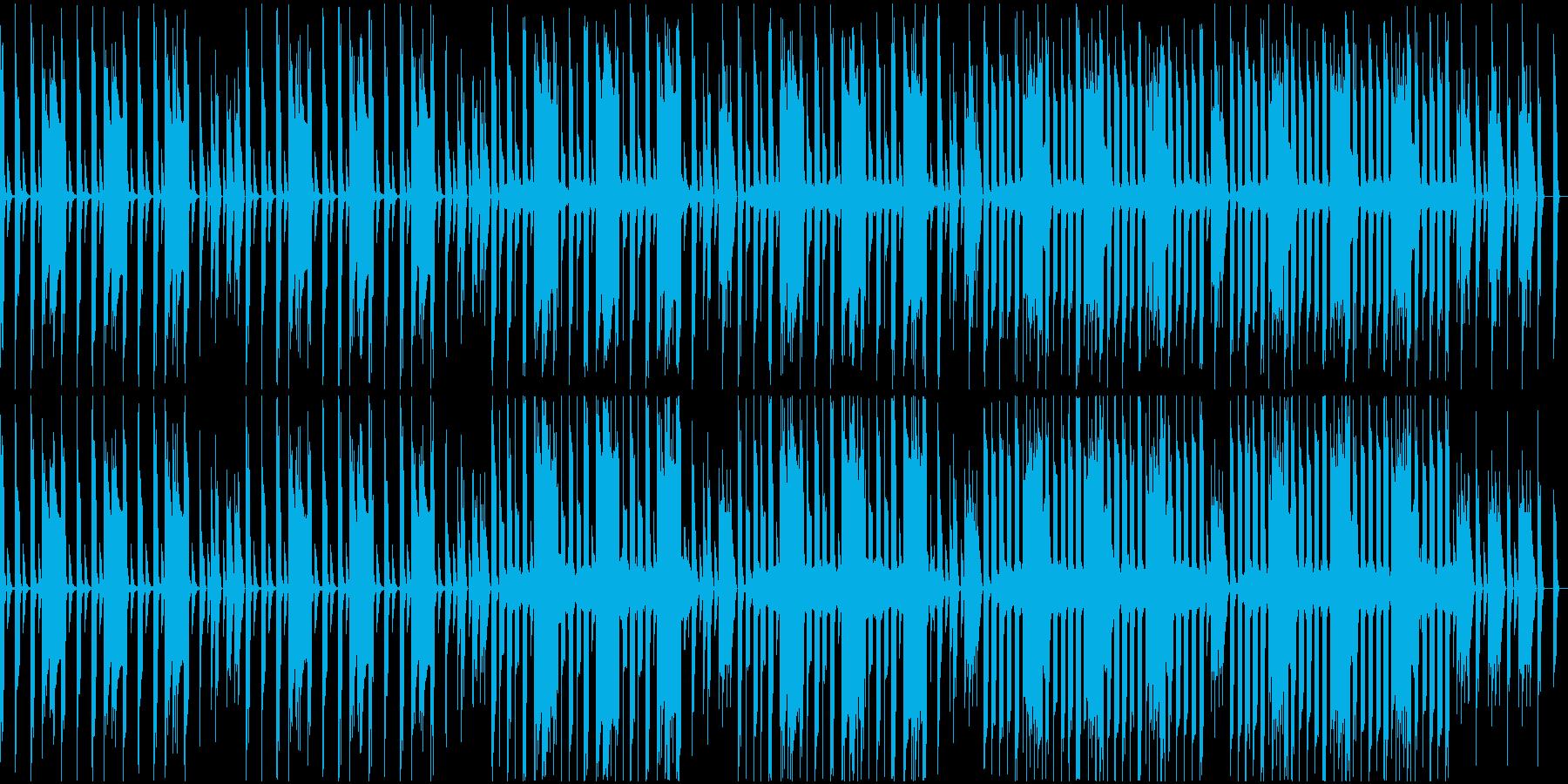 各種映像に。ループ仕様、8bit風の再生済みの波形
