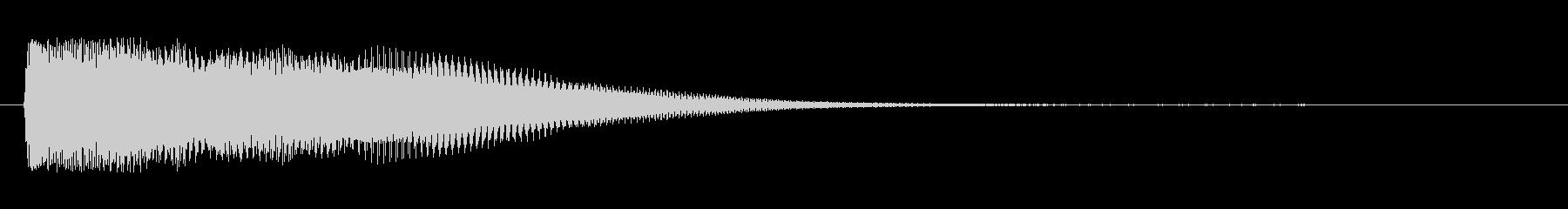 シタールを使った音源ですの未再生の波形