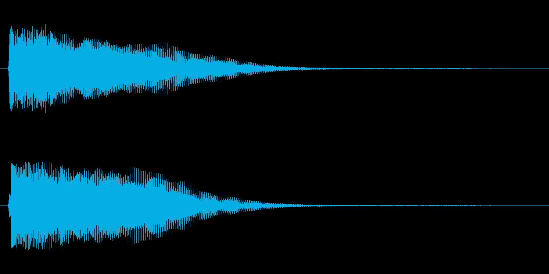 シタールを使った音源ですの再生済みの波形