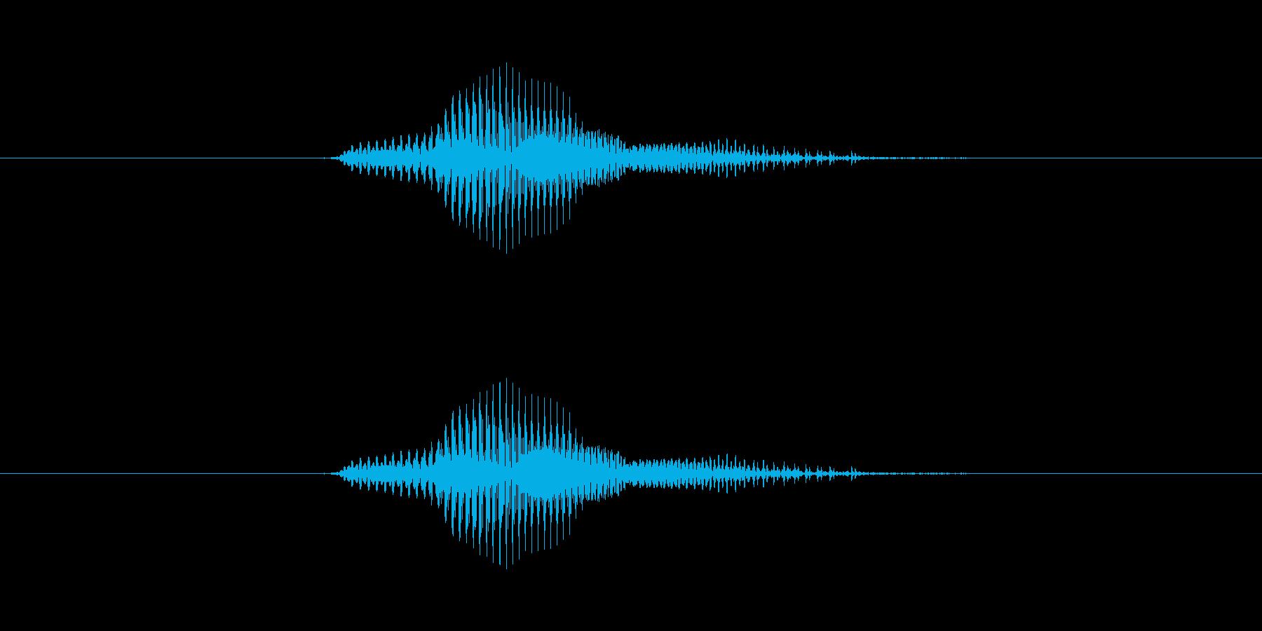 【数字】7(なな)の再生済みの波形
