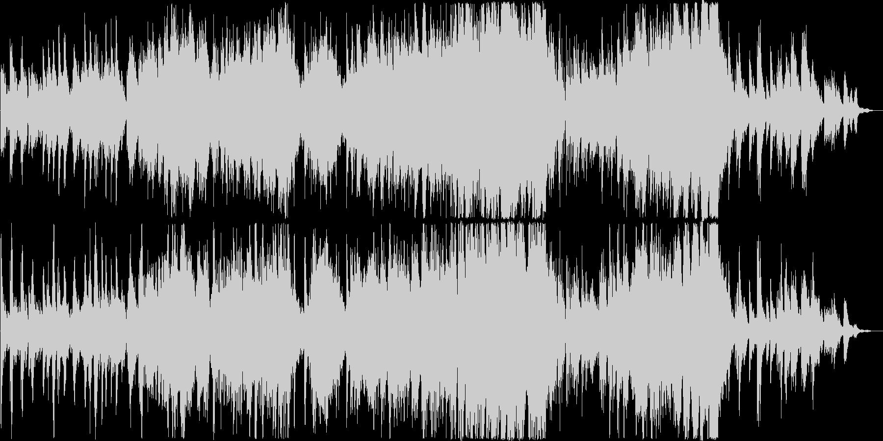 午後のまったりした時にかけるやさしい音楽の未再生の波形