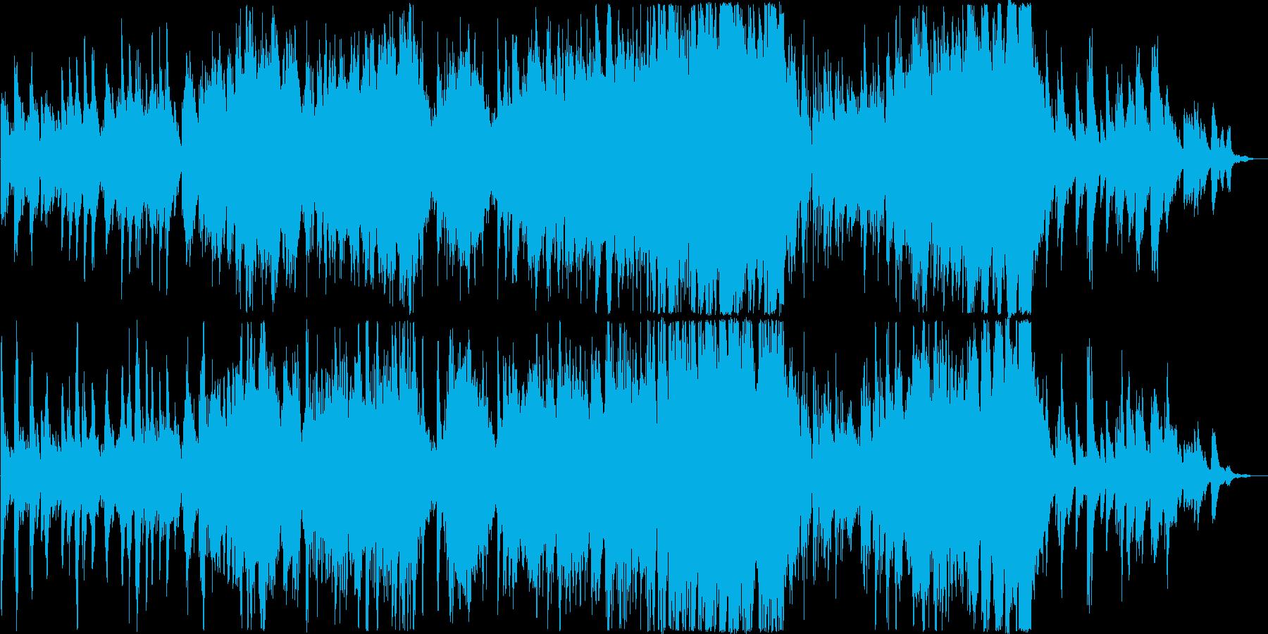 午後のまったりした時にかけるやさしい音楽の再生済みの波形