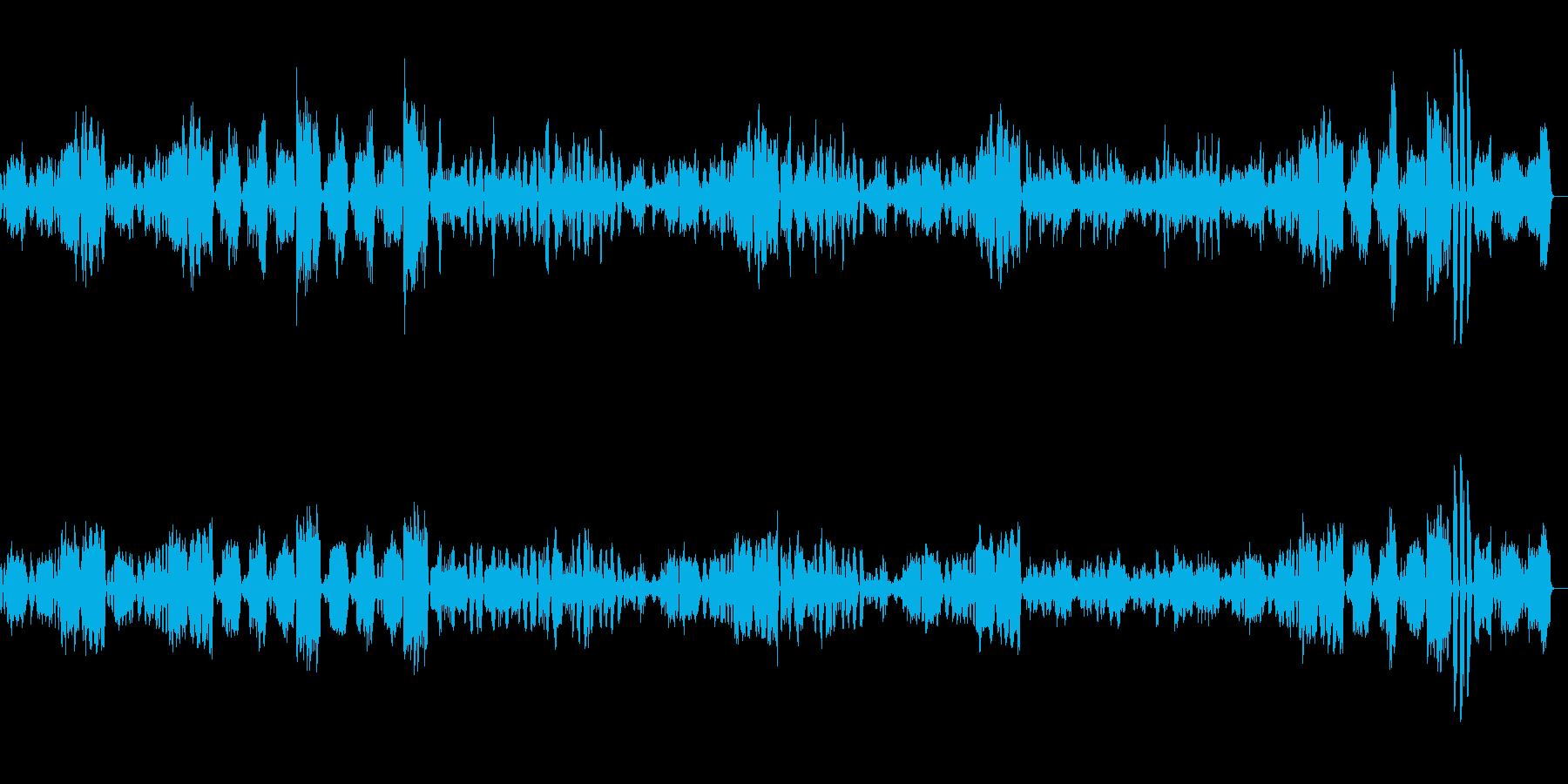 アイネクライネナハトムジーク 第2楽章の再生済みの波形