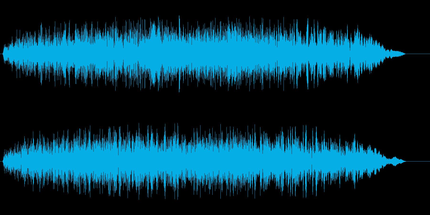 ギュルゥー(耳障りなノイズ)の再生済みの波形