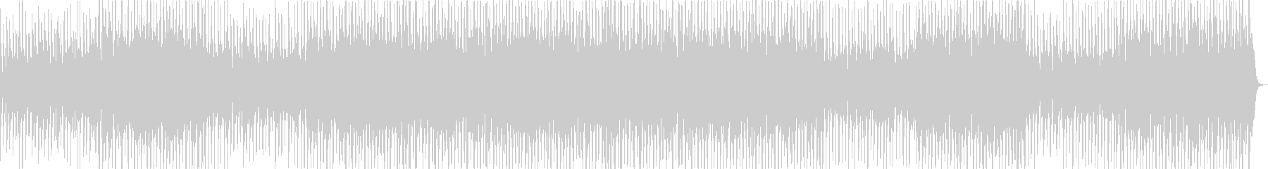 ほのぼのしたアコーディオンのカントリー曲の未再生の波形