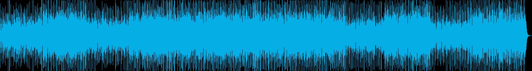 ほのぼのしたアコーディオンのカントリー曲の再生済みの波形