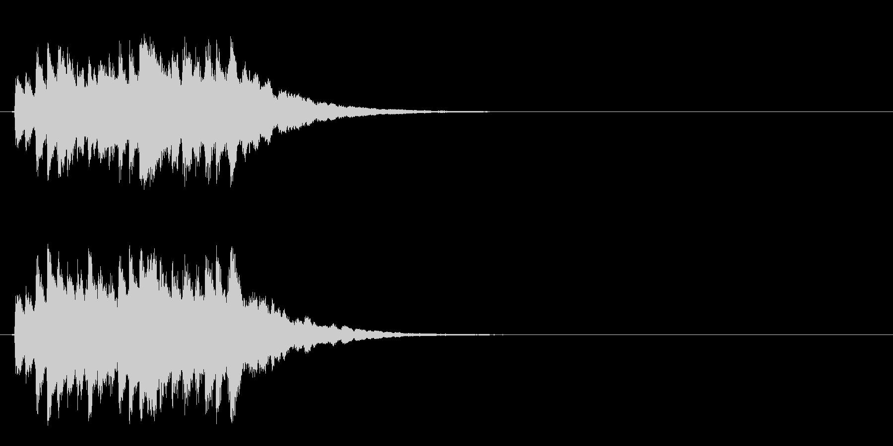 ジングル/環境(清涼/場面転換SE風)の未再生の波形